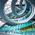 Circle staircase — Stock Photo