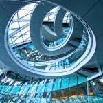 Circle stairway — Stock Photo
