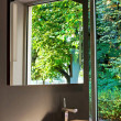 Nature bathroom - Stock Photo