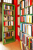 Book shelves — Stockfoto