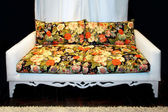 Floral sofa — Stock Photo