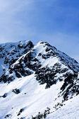 Bergstopp — Stockfoto