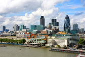 Sunny London landscape — Stock Photo