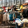 clothing shop — Stock Photo