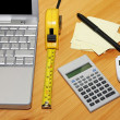 Stock Photo: Finance calculation