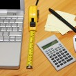 Finance calculation - Stock Photo