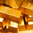 Gold bars — Foto de Stock