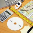 Map desk — Stock Photo #3065628