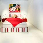 moderne schlafzimmer — Stockfoto