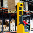 Stock Photo: Pallet lifter