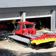 Pistenbully garage 2 — Stock Photo
