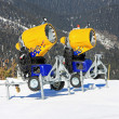 Snow cannons — Stock Photo