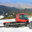Snow groomer polar — Stock Photo