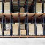 倉庫ボックス — ストック写真