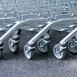 Stock Photo: Trolleys