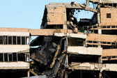 Earthquake building — Stock Photo