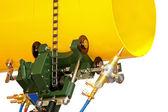 Pipe welder nozzle — Stock Photo