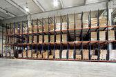 Warehouse pallet — Stock Photo