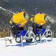 Snow cannons 2 — Stock Photo