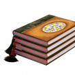 Four notebooks angle — Stock Photo #3164468