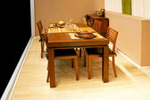 Dinning table — Stock Photo