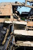 Earthquake blast — Stock Photo