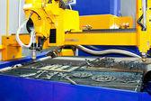 Metal sand cutter — Stock Photo