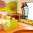 Stock Photo: Children room