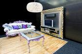 Living room classic — Stock Photo