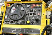 Machine cockpit — Stock Photo
