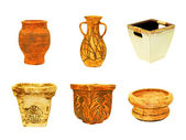 Pottery terracotta — Stock Photo