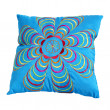 Blue pillow — Stock Photo