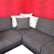 Stock Photo: Corner sofa