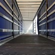 Lorry horizontal — Stock Photo