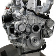 Stock Photo: Turbo diesel engine