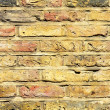 Yellow wall detail — Foto de Stock