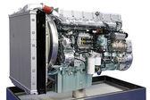 Big engine angle — Stock Photo