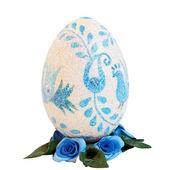 Padrão de ovo azul — Fotografia Stock
