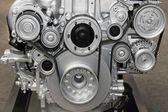 Engine belt system — Stock Photo