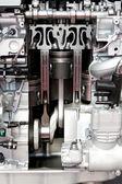 Engine pistons — Stock Photo