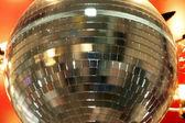 Rotating disco ball — Stock Photo