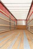 Semi truck vertical — Stock Photo
