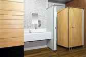 Toilette pubblica — Foto Stock