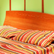 Foto de Stock  : Bedding straps
