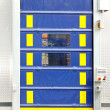 Cargo door - Stock Photo