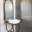 Ironwork basin — Stock Photo