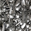 Stock Photo: Silverware