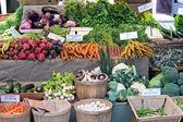 Mercado verde — Fotografia Stock