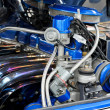 Blue engine — Stock Photo #3250247
