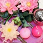 decoración floral — Foto de Stock